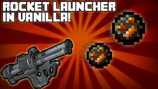 Minecraft Tutorial: Rocket Launcher in vanilla! [ITA]