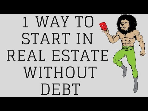 1 Great Way get Started Investing in Real Estate and Achieving Financial Freedom without taking Debt
