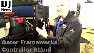 #GatorCases Heavy Duty Frameworks Multi Adjustable Stand Table | Disc Jockey News