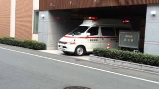 第二機関からの緊急要請により緊急出動する福田病院地域周産期母子医療...