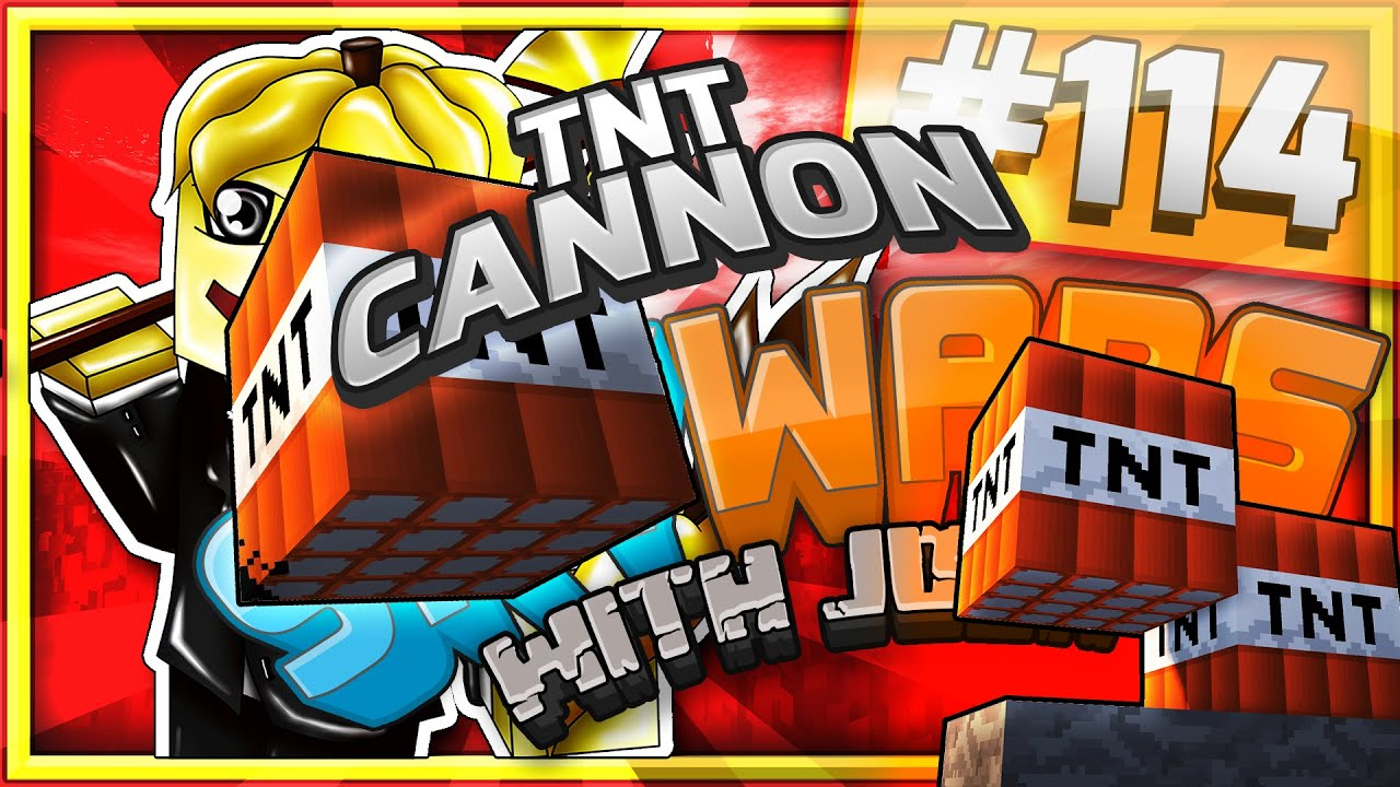 how to make a tnt cannon in minecraft skywars