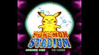 Main Menu - Pokémon Stadium (Pirate)