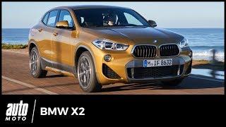 2018 BMW X2 - ESSAI : Fils de X4 & X6