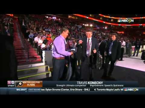 Draft 2015. Flyers select Travis Konecny