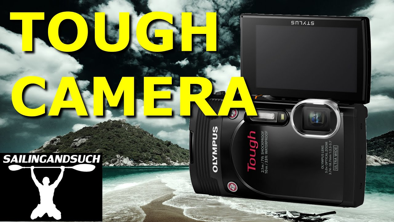 Olympus Tg 850 Waterproof Rugged Camera You