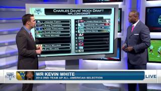charles davis post combine mock draft picks 1 10