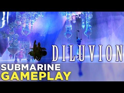 Diluvion GAMEPLAY: Controlling a Dieselpunk Submarine in a Vast, Underwater World