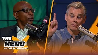 Eric Dickerson discusses the Rams vs Bears on SNF, talks Packers' coaching change | NFL | THE HERD