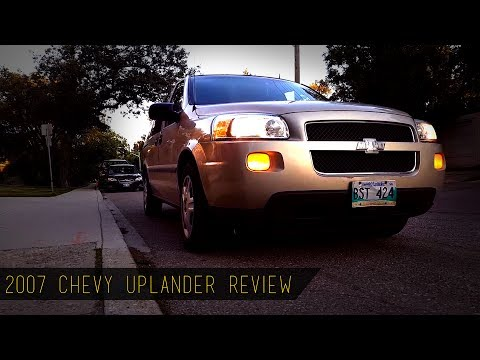 ThatDudeInTan || 2007 Chevy Uplander REVIEW