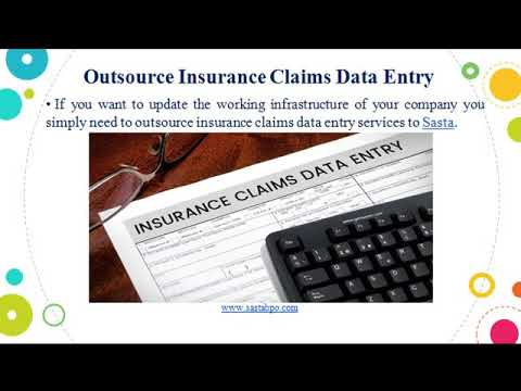 Outsource Insurance Claims Data Entry
