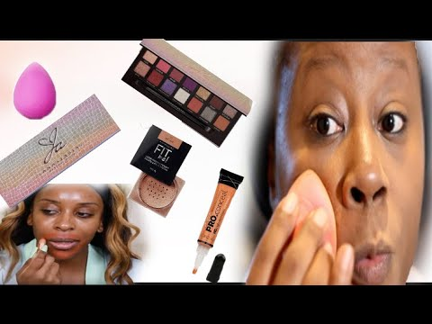 DOING FULL FACE USING JACKIE AINA TECHNIQUES!! DOES IT WORK??|Darbiedaymua thumbnail