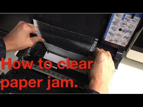 SOLVED: How to clear paper jam - Kyocera Ecosys FS-2100DN printer