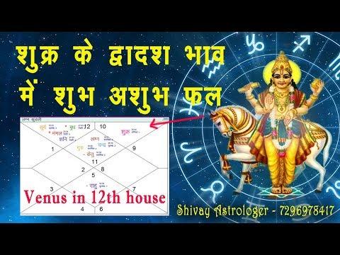 Venus in 12th house by Shivay Astrologer || shukra barahave bhav mai - Hindi