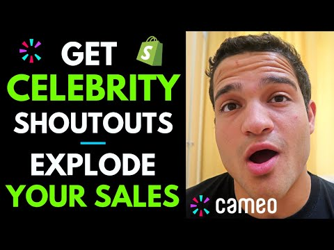 How to Get Celebrity Shoutouts to EXPLODE Your Shopify Dropshipping Sales in 2019 thumbnail