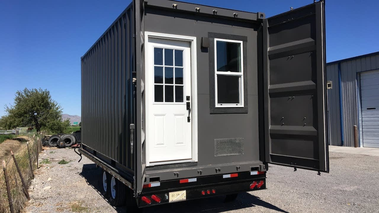 Budget-Friendly Container Home With All of The Essentials