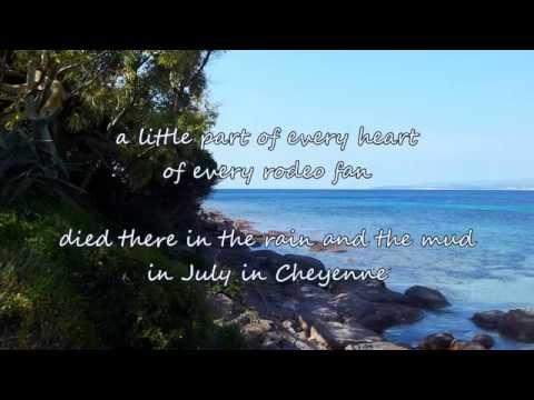 Aaron Watson - July in Cheyenne (Song for Lane's Momma)[with lyrics]