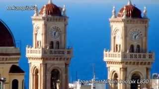 nikon coolpix l830 zoom test heraklio crete greece