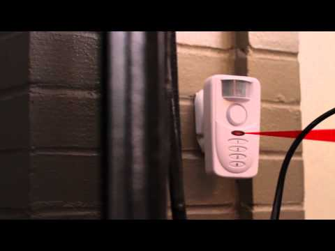 Home Security - SABRE Home Series - Motion Sensing Alarm