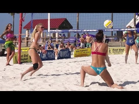 Beach Volleyball Girls | Semifinal One | Clearwater Beach, FL