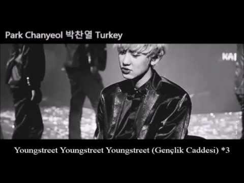 Exo-Chanyeol Logo Şarkısı YoungStreet Türkçe Altyazılı