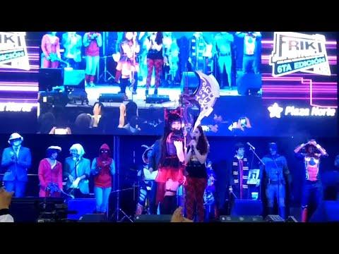 Friki Festival 6ta Edición 2018: Rory Mercury Campeona Cosplay 🎉🤗🎆 Plaza Norte 🌴🌴 Parte 12