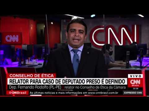 Entrevista Fernando Rodolfo para a CNN Brasil sobre o caso do deputado Daniel Silveira