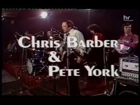 CHRIS  BARBER & PETE YORK PERFORM IN FRANKFURT,GERMANY