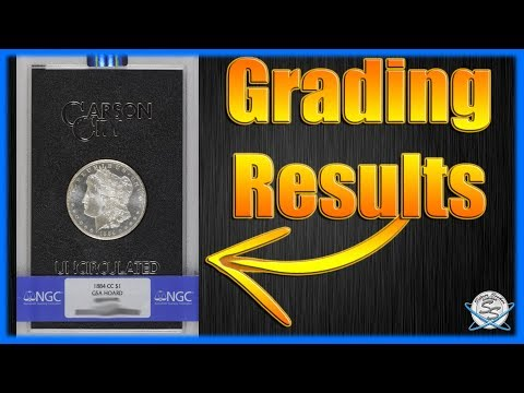 1884-CC GSA Morgan Silver Dollar! NGC Grading Results!
