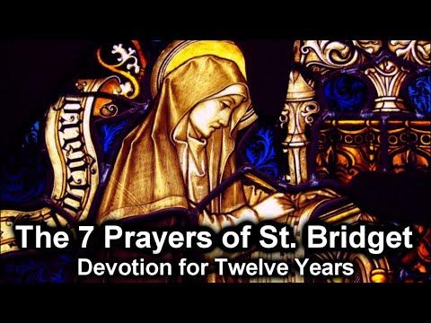 St. Bridget's 12 Years Prayer