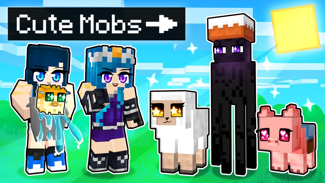 Download Playing as CUTE MOBS in Minecraft!