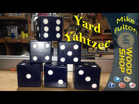 Yard Yahtzee - Yard Dice