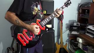 AC/DC Have A Drink On Me Malcolm Young's Rhythm on my AC/DC Guitar