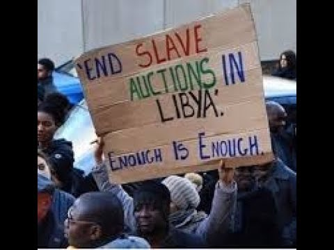 SAY NO TO SLAVERY IN LIBYA#SAYNOTOLIBYATRIP