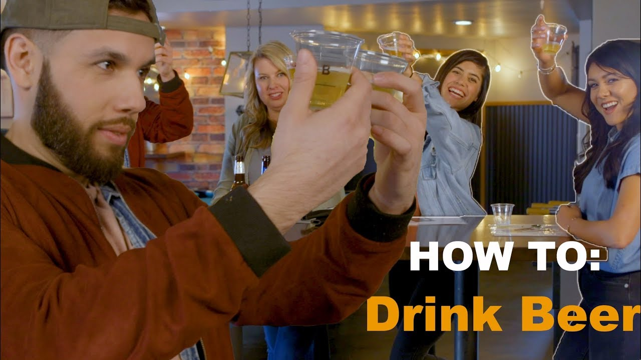 How To: Drink Beer (with Nikki Limo & Gaby Banuelos)