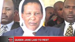 Queen Jane laid to rest