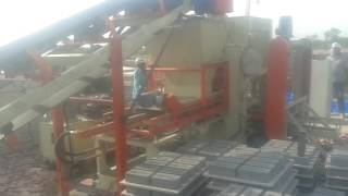 Fully Automatic Fly Ash Brick Machine with Automatic Pallet Stacker - ENDEAVOUR-i