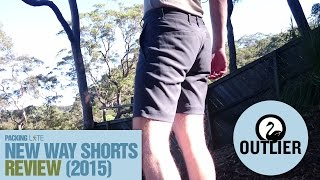 Outlier New Way Shorts (2015) Review