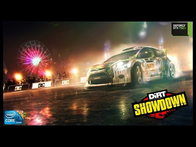 Dirt Showdown - i3 3250 + gtx 750ti