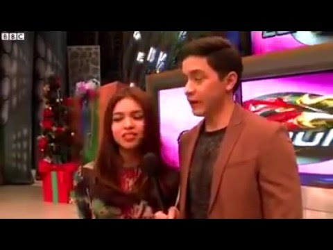 ALDUB | Maine Mendoza and Alden Richards BBC News Interview