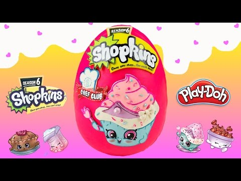 Shopkins Season 6 Playdoh Surprise Egg...