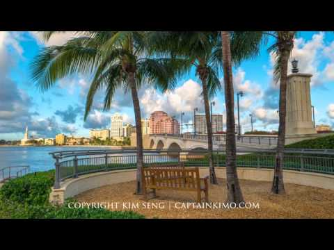 West Palm Beach Time Lapse Compilation 2015-12-15