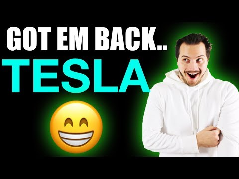 I Bought my 100 shares of Tesla Stock Back & Made $16,896