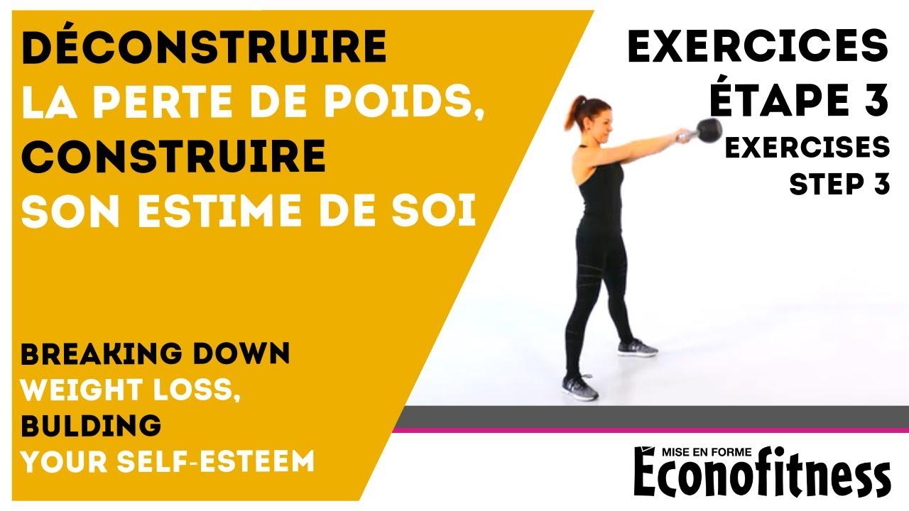 Exercices Guide Perte de poids 10 livres en 10 semaines - Étape 3 - YouTube