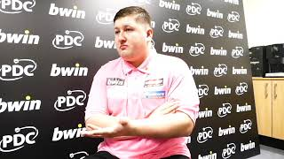 Grand Slam of Darts 2018 - Keegan Brown reflects on group stage victory over Mark Webster