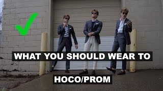 What You Should Wear To Homecoming/prom - John Greenacre