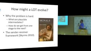 Evolving a Language of Thought | Dr. Ronald J. Planer