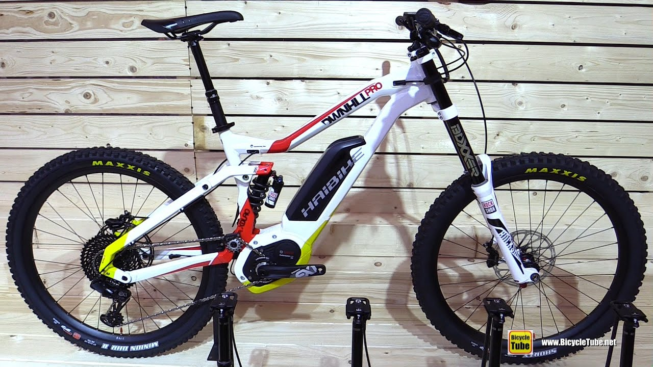2017 haibike xduro downhill pro electric mountain bike. Black Bedroom Furniture Sets. Home Design Ideas