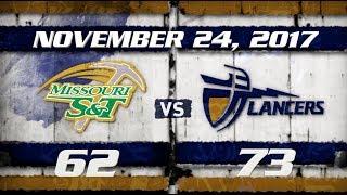 CBU MBB vs Missouri S&T 11-24-17 thumbnail