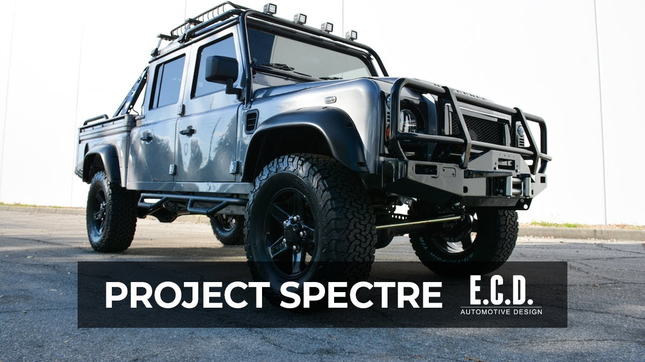Land Rover Defender 130 Spectre It s HERE and it s LOUD