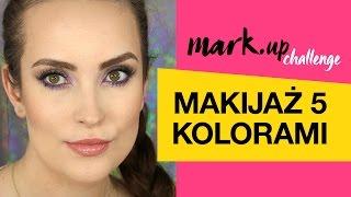 MARK.up Challenge - Makijaż 5 Kolorami  MARK